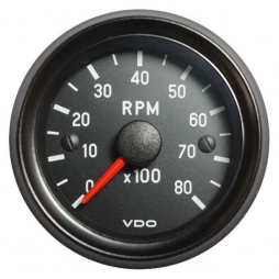 VDO Cockpit International® RPM Counter 333-035-018G, Ø52mm 12V