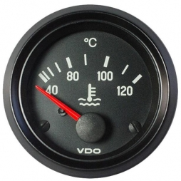 VDO Cockpit International® 310-040-002G Temperatura liquido di raffreddamento 120°C Ø52mm 24V