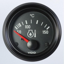 VDO Cockpit International® 310-040-003G Engine oil temperature 150 ° C Ø52mm 24V