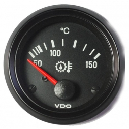 VDO Cockpit International® 310-030-015G Gear oil temperature 150°C Ø52mm 12V