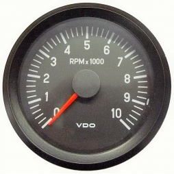 VDO Cockpit International® 333-035-022G RPM Counter, Ø80mm 12V