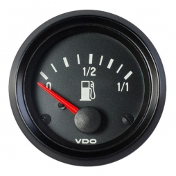 VDO Cockpit International® 301-040-001G Indicatore livello carburante 52mm 24V