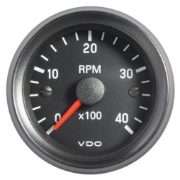 VDO Cockpit International® 333-035-029G RPM Counter 0-4000, Ø52mm 12V