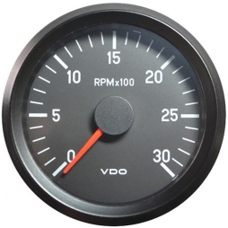 VDO Cockpit International® 333-045-001G RPM Counter , Ø80mm 24V