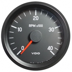 VDO Cockpit International® 333-045-002G RPM Counter, Ø80mm 24V