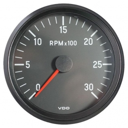 VDO Cockpit International® RPM Counter 333-055-001G, Ø100mm 12V