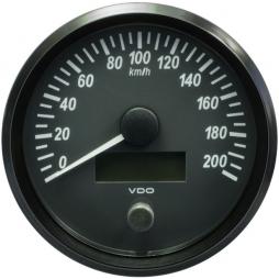 VDO SingleViu™ A2C3832840001 Tachimetro 200 km/h Nero Ø100mm