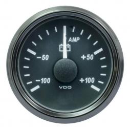 VDO SingleViu A2C3833070001 Ammeter 100A Black 52mm