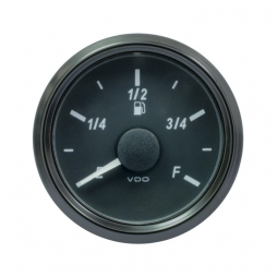 VDO SingleViu A2C3833140001 Fuel Level 3-90 Ohm Black 52mm