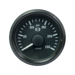 VDO SingleViu™ A2C3832730001 Oil brake pressure 0-250psi/52mm