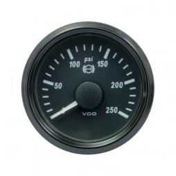 VDO SingleViu™ A2C3832730001 Pressione olio freni 0-250psi/52mm