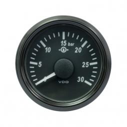 VDO SingleViu™ A2C3832720001 Pressione olio di trasmissione 0-30Bar/52mm