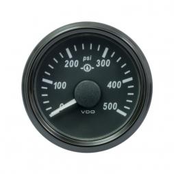 VDO SingleViu™ A2C3832740001 Pressione olio di trasmissione 0-500psi/52mm