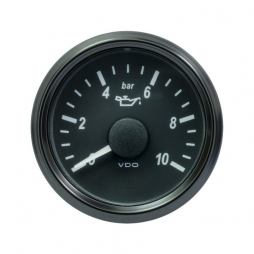 VDO SingleViu A2C3832690001 Engine Oil Pressure 10Bar Black 52mm