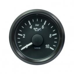 VDO SingleViu™ A2C3832690001 Pressione olio motore 0-10Bar/52mm