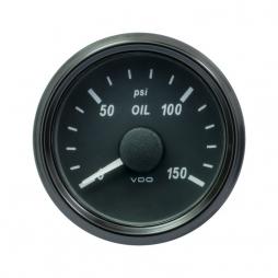 VDO SingleViu™ A2C3833240001 Pressione olio motore 0-150 PSI/52mm