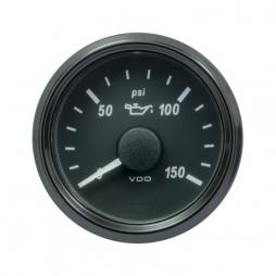 VDO SingleViu™ A2C3832700001 Pressione Olio Motore 0-150 PSI/ 52mm