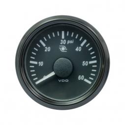 VDO SingleViu™ A2C3833470001 Pressione Turbo 0-60PSI/ 52mm