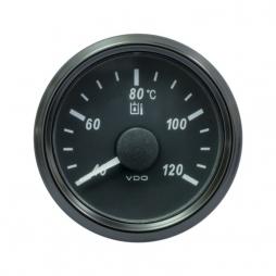 VDO SingleViu™ A2C3833510001 Temperatura Olio Idraulico 40-120°C Nero Ø52mm