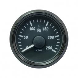 VDO SingleViu™ A2C3916310001 Temperatura Olio Idraulico 0-250°F/ 52mm