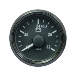 VDO SingleViu™ A2C3832780001 Voltmetro 16-32V Nero Ø52mm